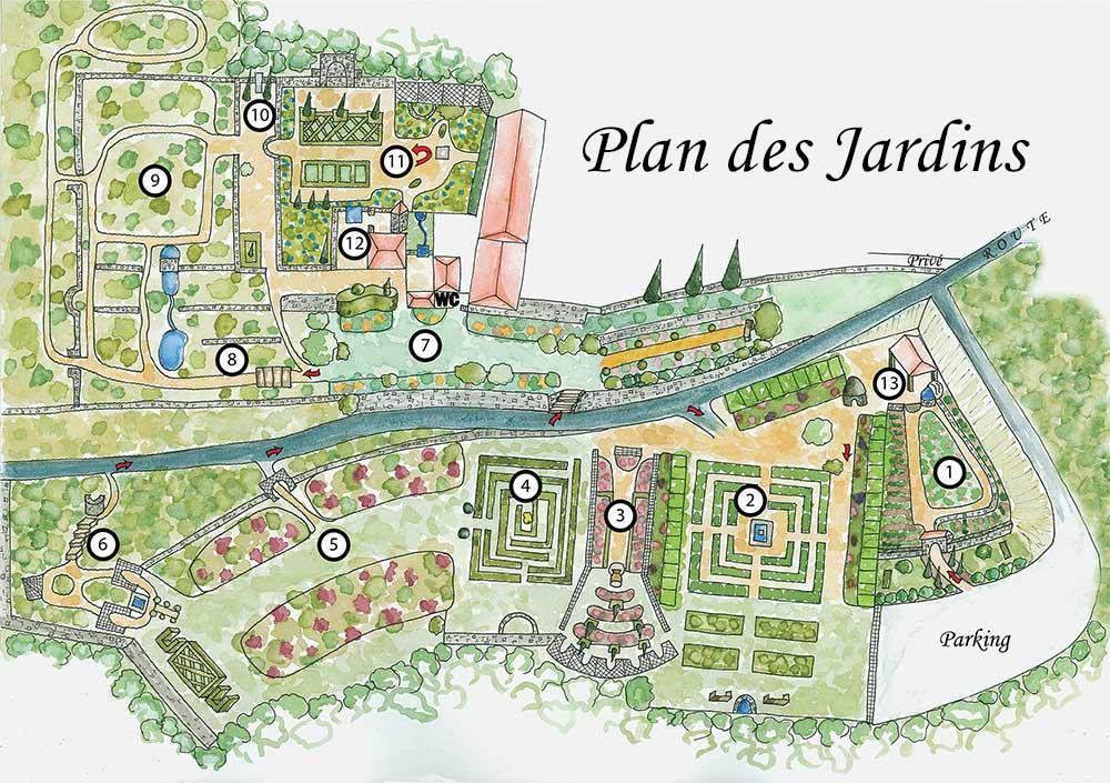 10 Jardins Les Jardins De Cadiot